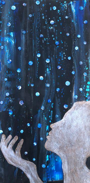 Rain - Angel B Coleman Art
