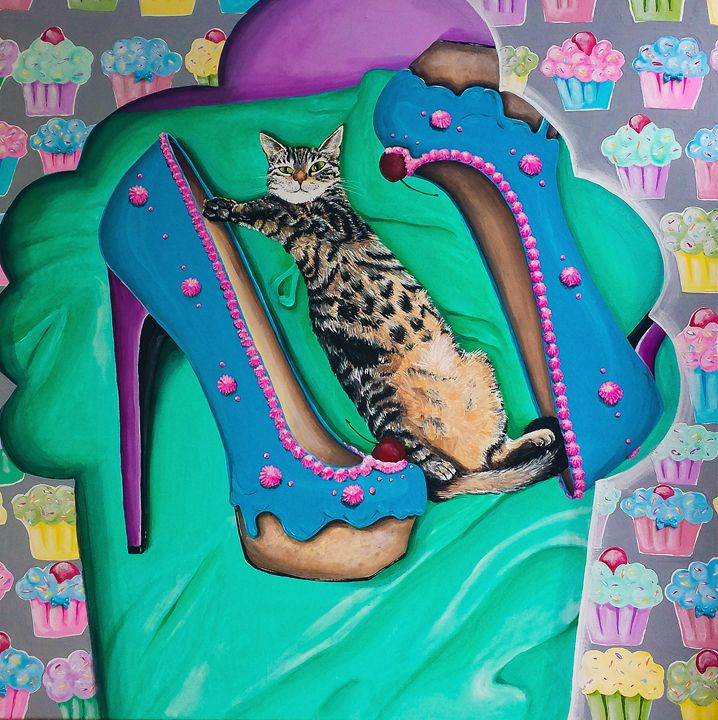 Spoiled - Cats Love Shoes