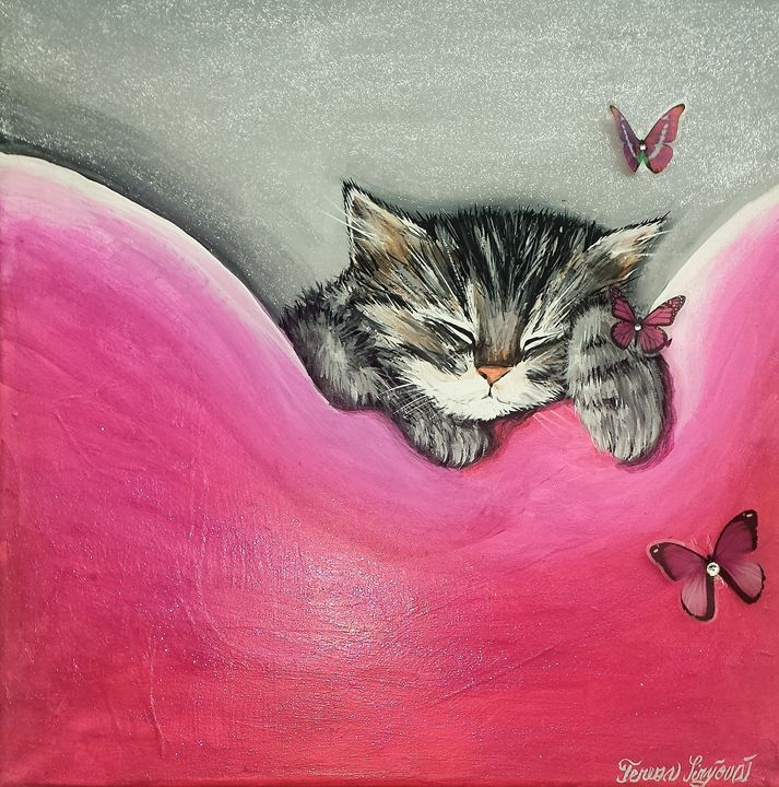 """""""Sweet Dreams"""" - Cats Love Shoes"""