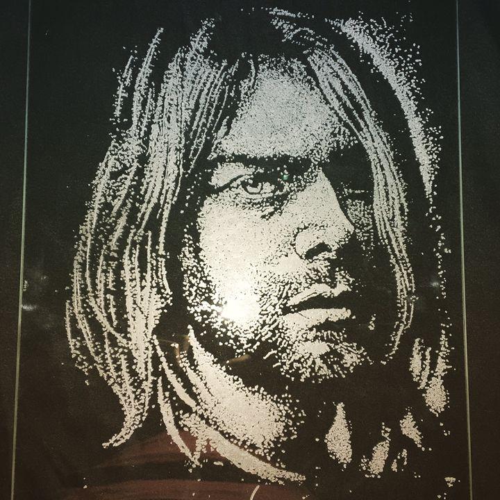 Kurt Cobain - portait - MorbisArt