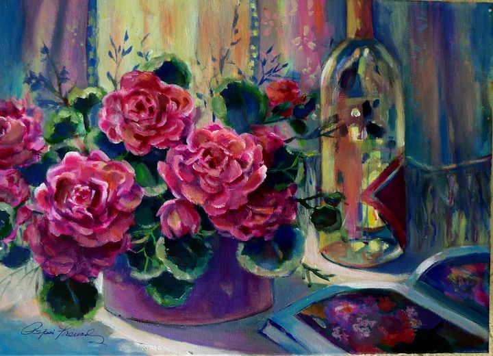 WINE AND ROSES 2 - Pepsiart