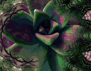 mesh flower