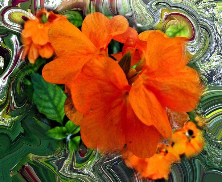 orange swirl - Pepsiart