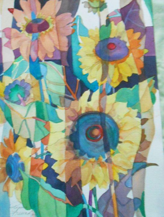 Sunflowers Ab - Pepsiart