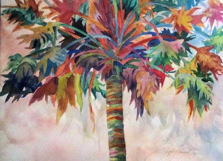 Rainbow Palm - Pepsiart