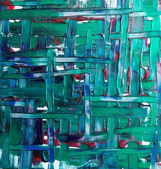 Acrylic Weave - All Art is Relative