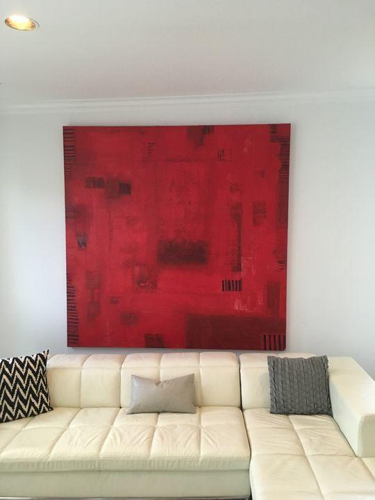 Red escape - Churchill Gallery