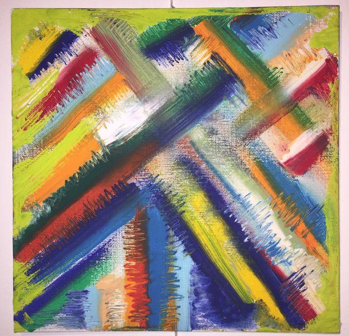 Colors Crosshatched - AARTVARK