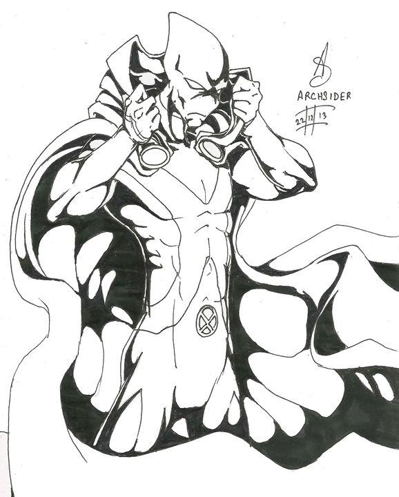 Martian Manhunter Inked - ArcGallery