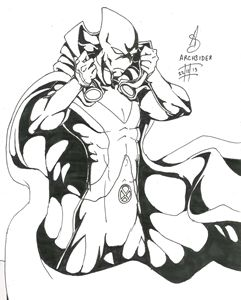 Martian Manhunter Inked