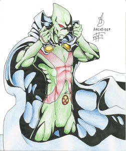 Martian Manhunter colored