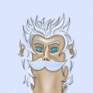 Zeus Head Texture