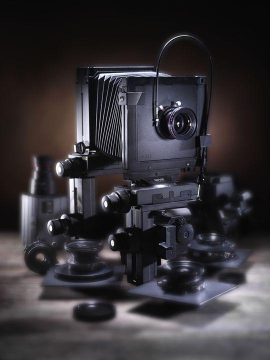 Black Sinar P2 - chiccophoto