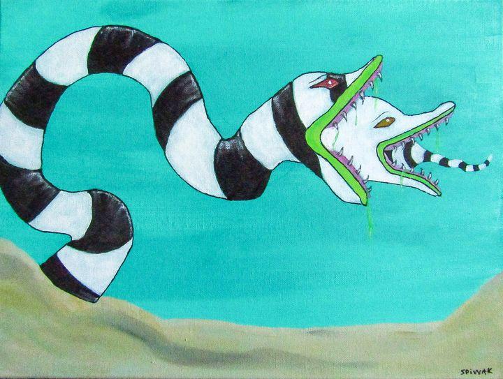 Sandworm - Art by Kim Spiwak