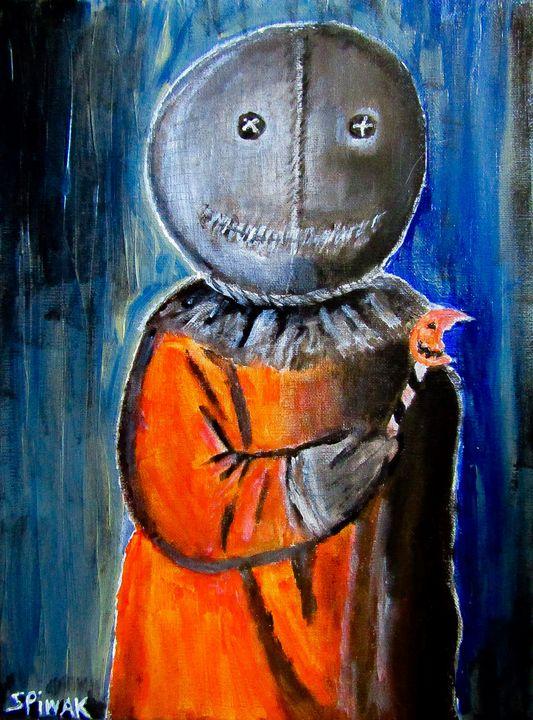 Sam - Art by Kim Spiwak