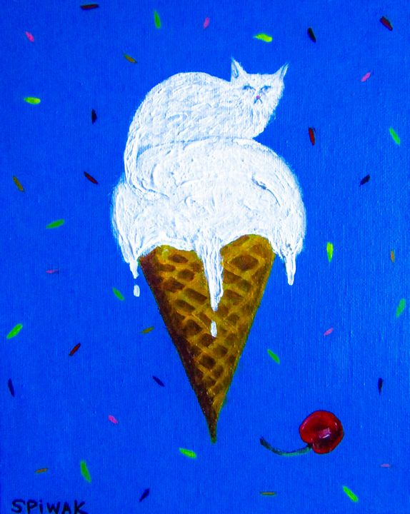 Vanilla Persian - Art by Kim Spiwak