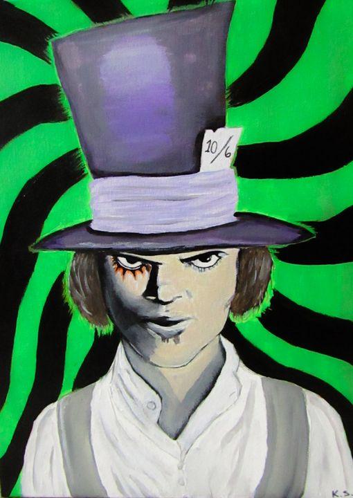 Alex in Wonderland - Art by Kim Spiwak