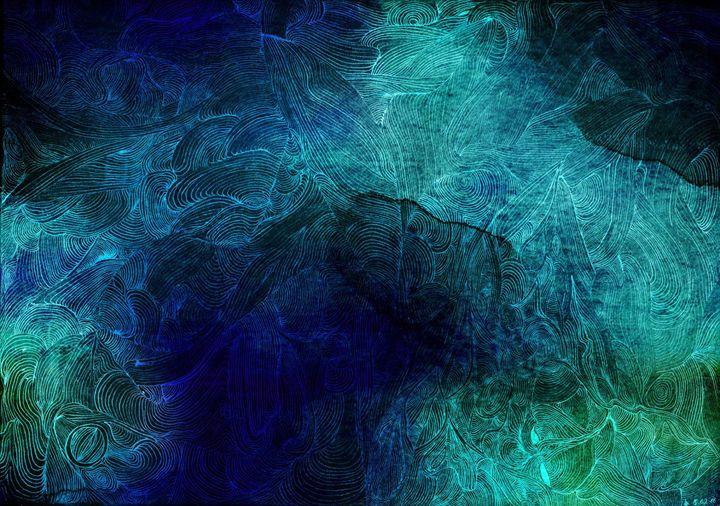Vortex (Dark Blue/Green) - Vincent Winter