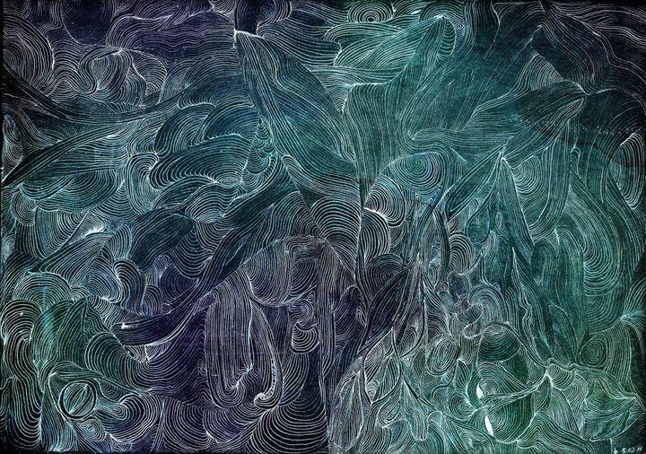 Vortex (Blue/Green) - Vincent Winter