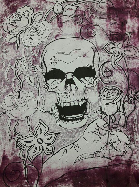 Deathly roses - Amanda Conticchio