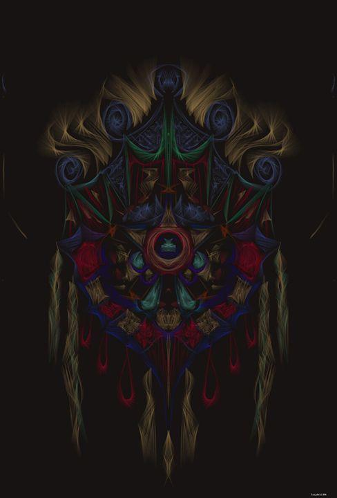 Native Sheild Mandala - C&R Creations