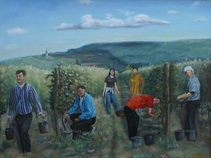 Grape harvest - Ratko Torma