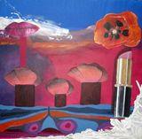 30 x 30 Acrylic painting