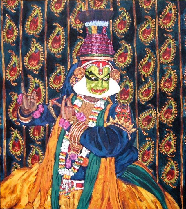 Kathakali Dancer - NarayaniArts