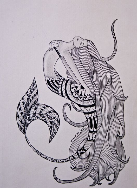 Mermaid Zen - A Color Or Two