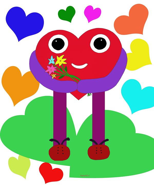 A nice heart brings you flowers. - Neko92vl