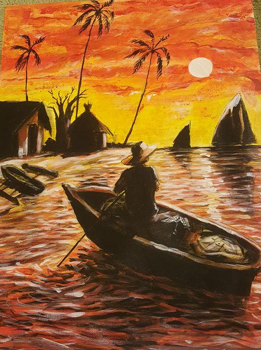 Fisherman - AtakaloSokoArt