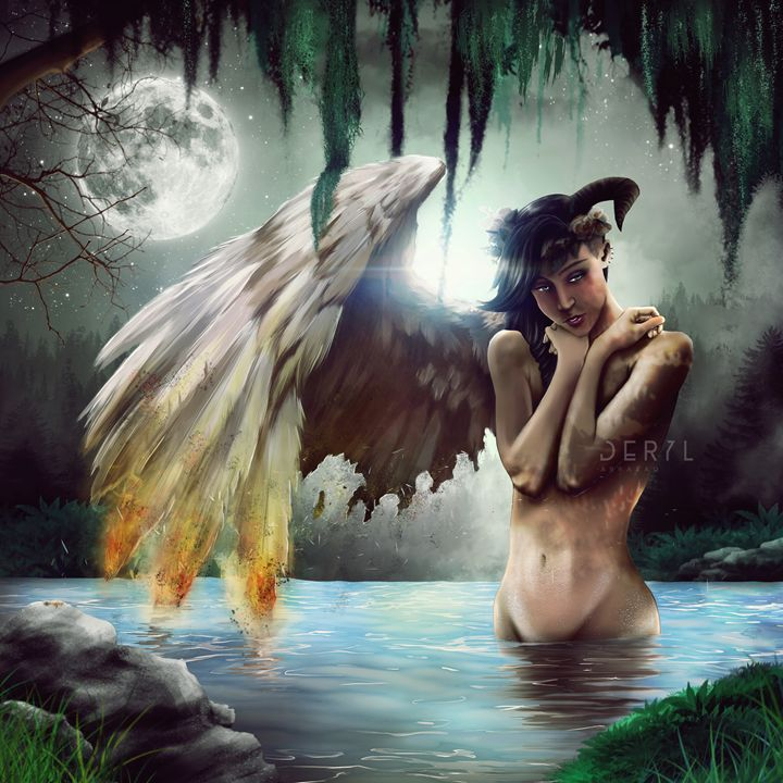 My Broken Wings - Art Cart