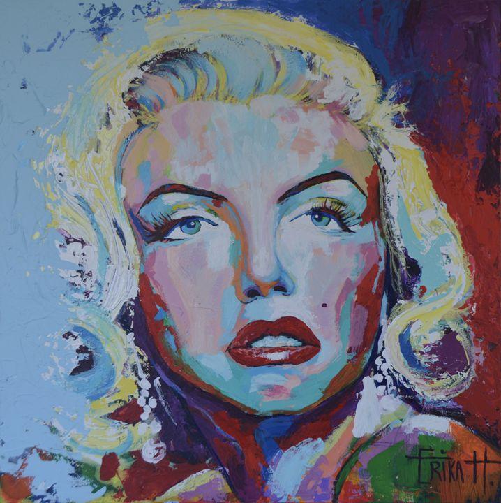 Marylin Monroe - Erika H. Fine art