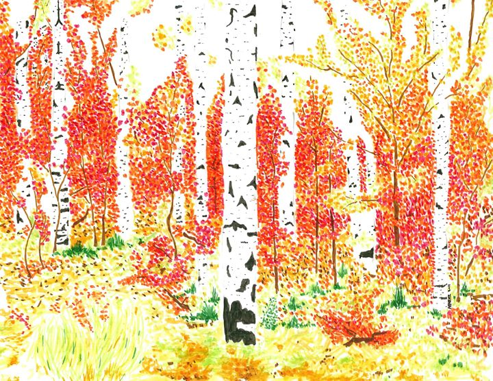 Aspen Trees - TRYBYK