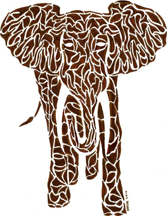 Brown Elephant - TRYBYK