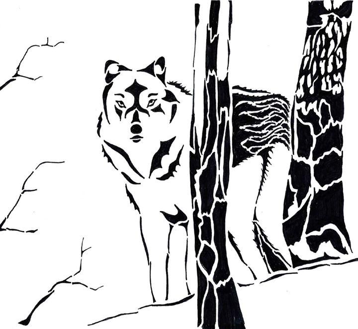 Black Arctic Wolf - TRYBYK