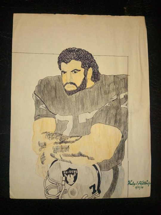 NFL Great Lyle Alzado - Peace By Piece Cre8n