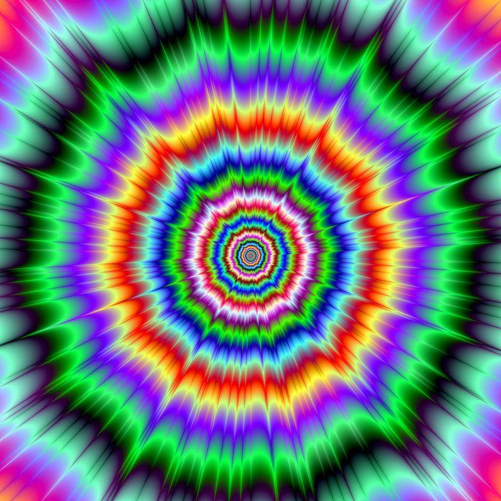 Eye Boggling Explosion - Objowl's Fractal Art