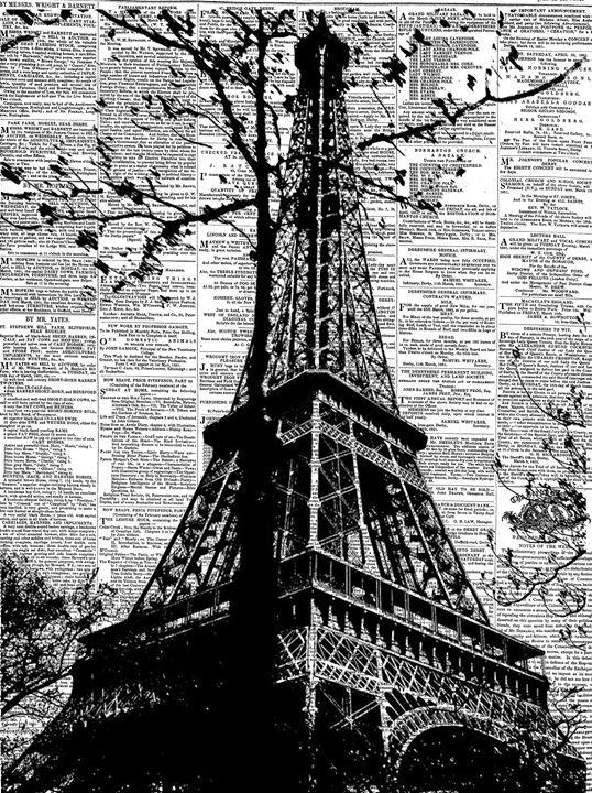 News In Paris - Digital Art