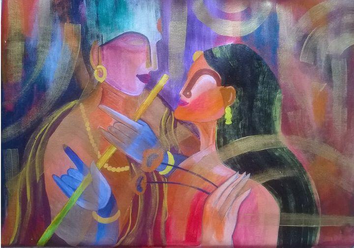 Radha Krishna - ArtistRatna