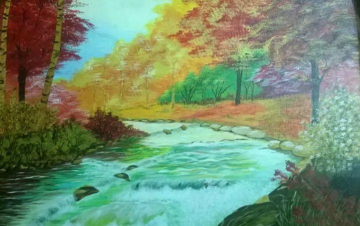 Flow of Life - ArtistRatna