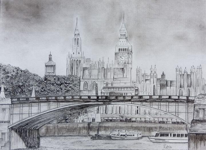 London_Cityscape - ArtistRatna