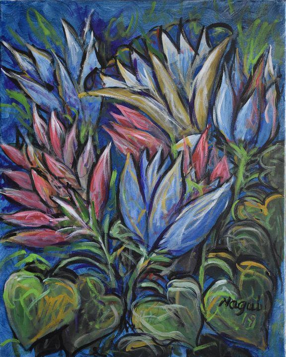 Flowers 11 - The Art of Nagui Achamallah