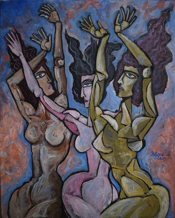 Campfire dance - The Art of Nagui Achamallah
