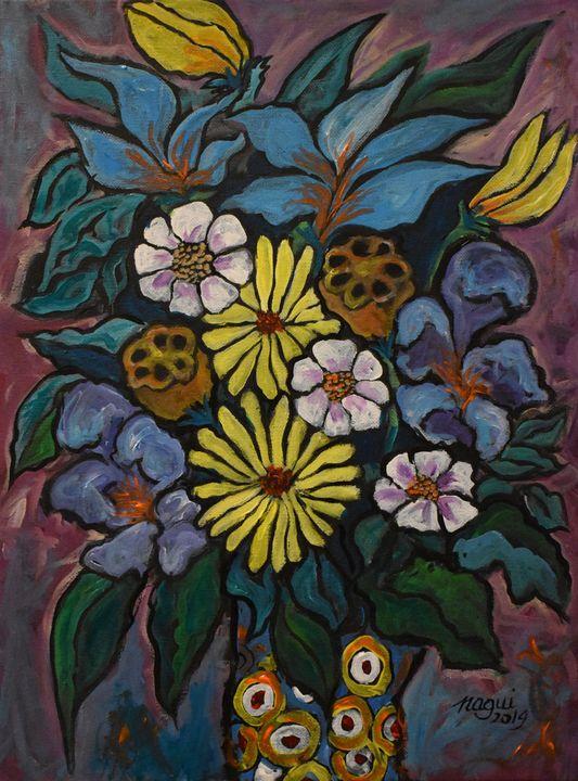 Flowers 15 - The Art of Nagui Achamallah