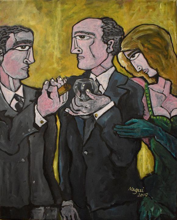 Green Gloves - The Art of Nagui Achamallah