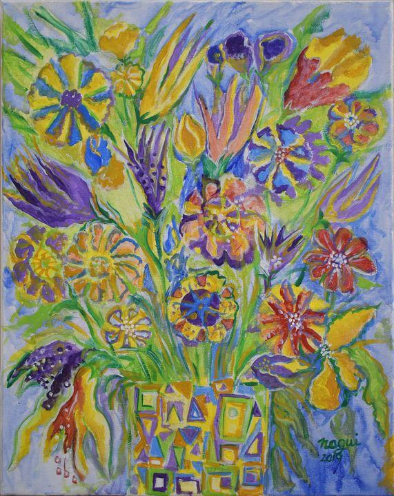 Flowers 03 - The Art of Nagui Achamallah