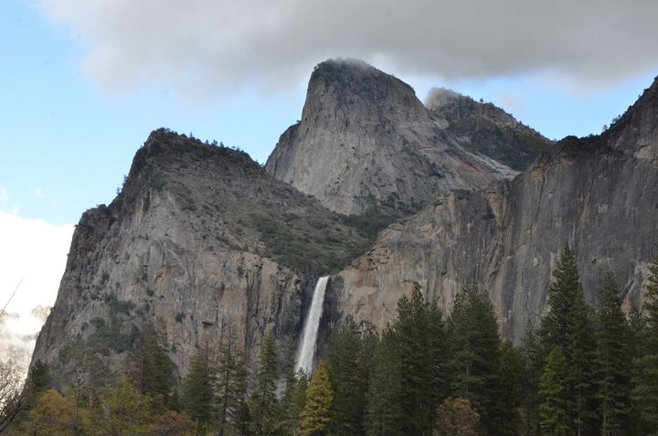 Bridalveil Falls from the Valley Flo - Fine Art by Debby