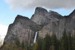 Bridalveil Falls from the Valley Flo