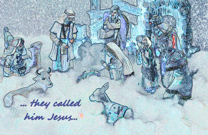 They called him Jesus - Fine Art by Debby